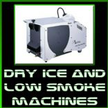 Dry Ice and Low Smoke Machines